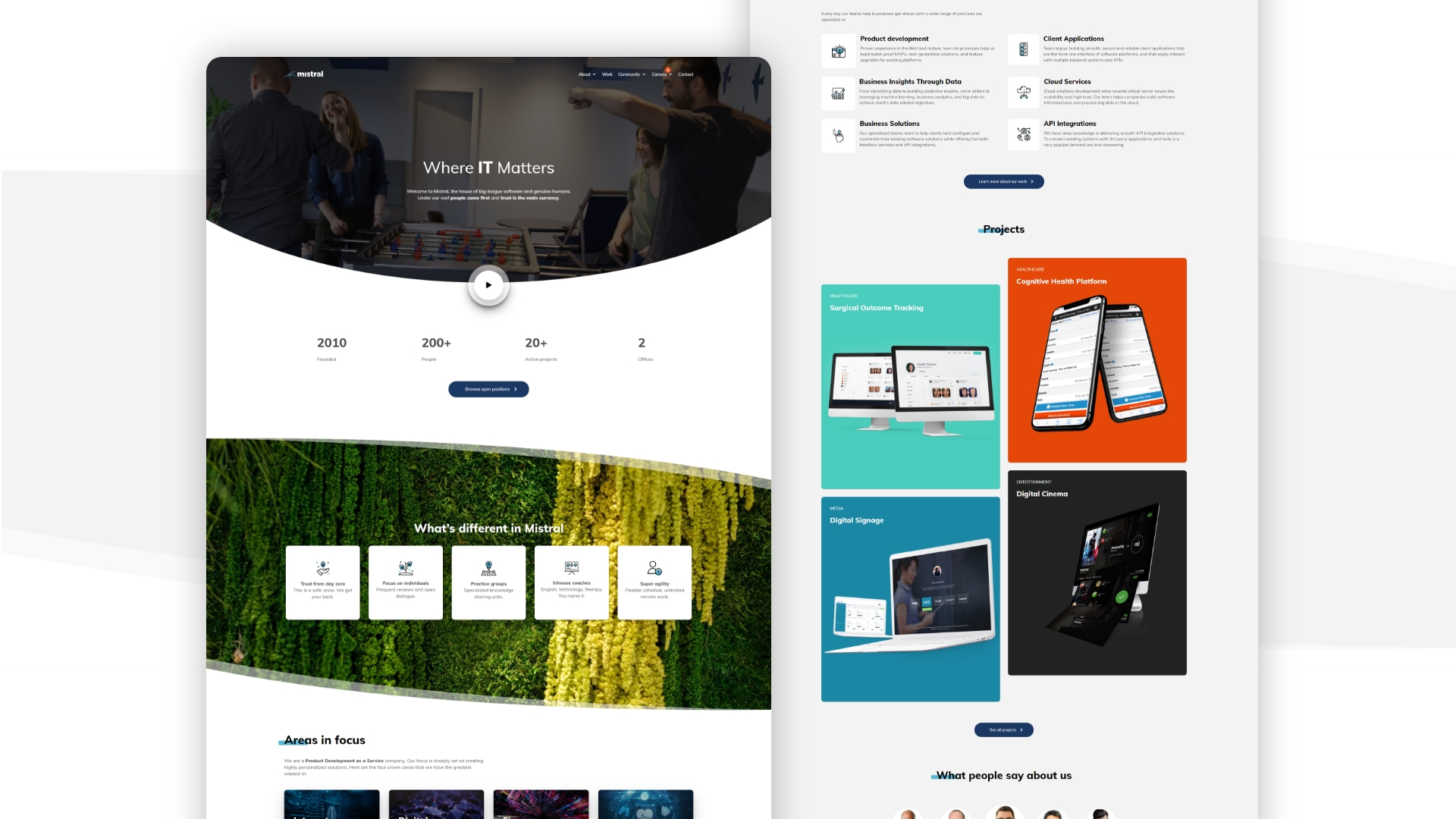Building a New Company Website: The Design Process Breakdown
